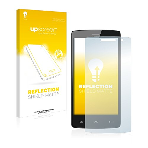 upscreen Entspiegelungs-Schutzfolie kompatibel mit Doogee Homtom HT7 Pro – Anti-Reflex Bildschirmschutz-Folie Matt