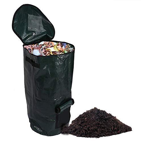 Read About Zaluan Organic Waste Kitchen Picnic Garden Organizer Compost Bag Environmental PE Fabric ...
