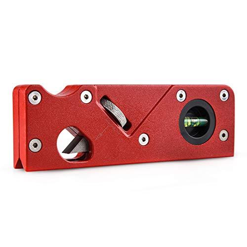 LYNN Holzbearbeitungskanten-Eckhobel, 45 Grad abgeschrägte manuelle Hobelmaschine zum Anfasen und Trimmen für alle Arten von Holz.