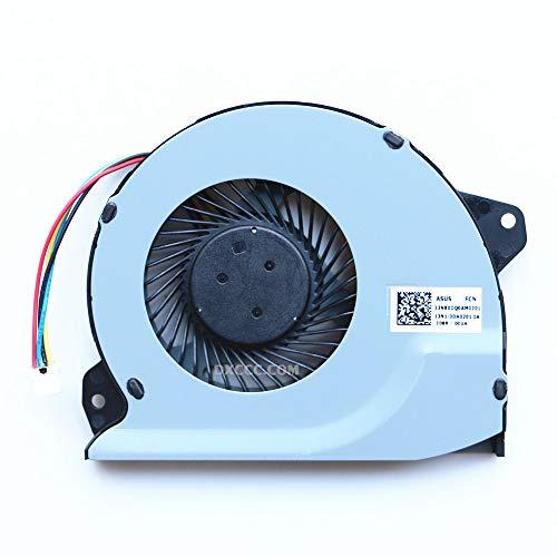 DENGHUXIE FJ9T & FJ9U - Ventilador de CPU y GPU para ASUS ROG Strix GL702VM GL702VMK