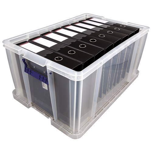 BANKERS BOX Prostore - Caja de almacenamiento de plástico (70 L, 30 x 58 x 38,5 cm)