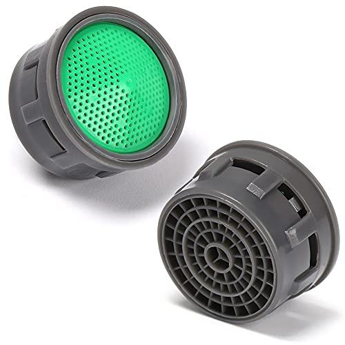 Engfgh Aireador De Grifo, Aerador De Faucet De Ahorro De Agua Hilo Femenino, Difusor De Toque Difusor Faucet Filtro Filtro Adaptador Burbujero De Agua Grifo Herramientas 1SET (Color : 5pcs)