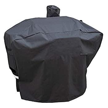 Utheer Pellet Grill Cover for Camp Chef Full-Length Patio Cover DLX 24  SmokePro 24  PG24 PG24LS PG24S PG24SE PG24LTD SmokePro DLX Woodwind Pellet Grills Cover 600D Anti-UV Waterproof