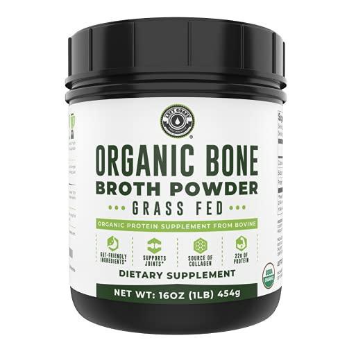 Organic Grass Fed Beef Bone Broth Protein Powder