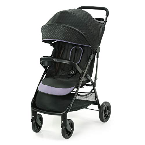 Graco NimbleLite Stroller | Lightweight Stroller, Under 15 Pounds, Car Seat Compatible, Compact Fold, Hailey