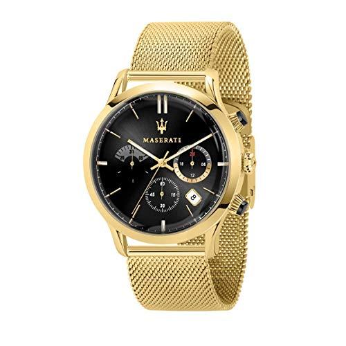 Reloj para Hombre, Colección RICORDO, en Acero, PVD Amarillo - R8873633003