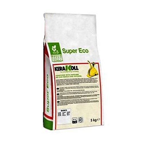 COLLA SUPER ECO KERAKOLL COLLANTE PER PIASTRELLE BIANCO kg.5