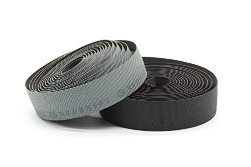 REDSHIFT Really Long Bar Tape for Road Bike Handlebars, fits All Drop Bar Handlebars for Road, Gravel and Fixie Bicycles, Ergonomic Comfort Cycling Accessory, 315cm Long, Black Color