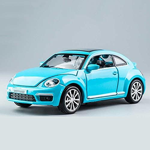 Xolye Kinder pädagogisches Spielzeugauto kann an vielen Orten eröffnet werden Sound- und leichte Sportwagen-Spielzeugspieler mit 4 Farben vorhanden Hinterrad Ziehen Sie Metallspielzeugauto mit offener