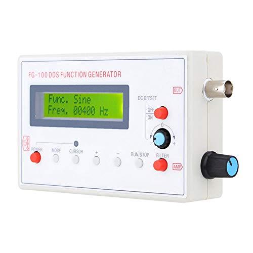 1HZ-500KHZ FG-100 DDS Generador de señal funcional Medidor de frecuencia Módulo de fuente de señal Contador de frecuencia