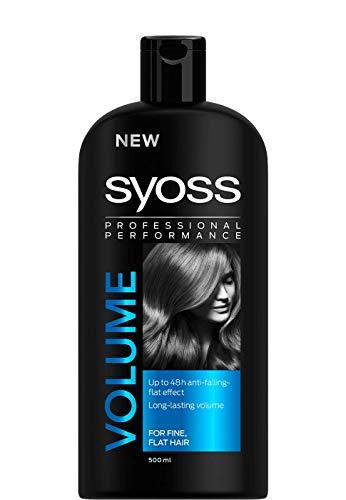 Saint Alge SyossVolume Lift –Volumen-Shampoo mit Keratin, 500ml Flasche