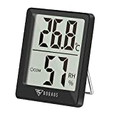 DOQAUS Mini Termmetro Higrmetro Digital, Medidor de Temperatura con 5s de...