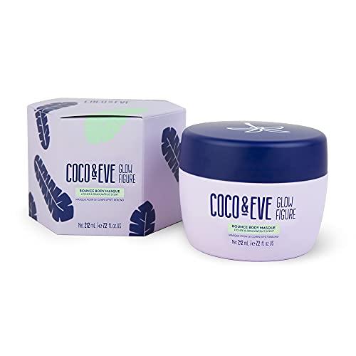 Coco & Eve Glow Figure - Mascarilla corporal realzante - Máscara detox con arcilla   Cuidado de la piel del cuerpo   Crema anticelulítica para mujer (212ml)