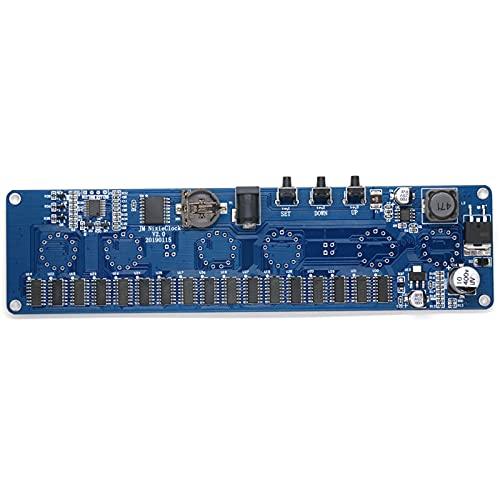 TSAUTOP Newest Kit de Bricolaje electrónico de 5V In14 Nixie Tube Digital LED Reloj Circuito de Regalo Circuito PCBA, sin Tubos (Color : PCB Board no Tube)