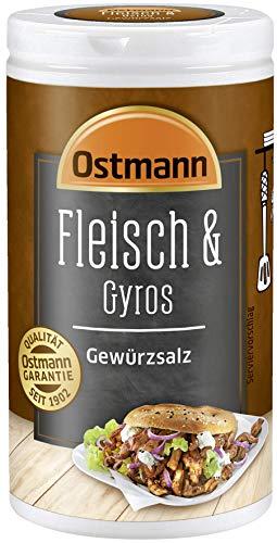 Ostmann Fleisch & Gyros Gewürzsalz, 4er Pack (4 x 50 g)