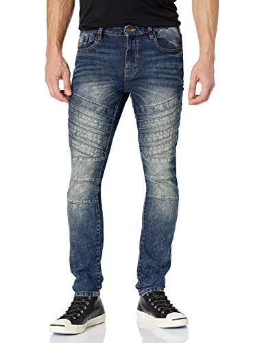 Southpole Herren 20321-3114 MSR Jeans, Medium Sand Rost 8, 34W / 32L
