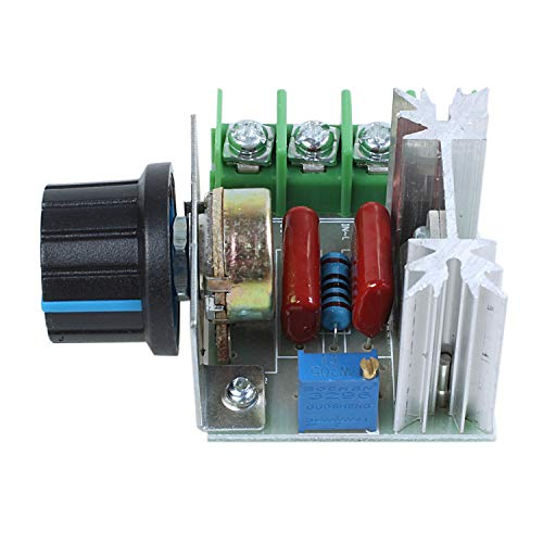 SODIAL(R) Regulador de voltaje de velocidad SCR 2000W AC 220V