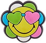 Crocs Smiley Flower Charm decorativi, Multicolore (/), Taglia Unica