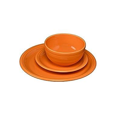 Fiesta 325-1482 3 Piece Bistro Set, Tangerine