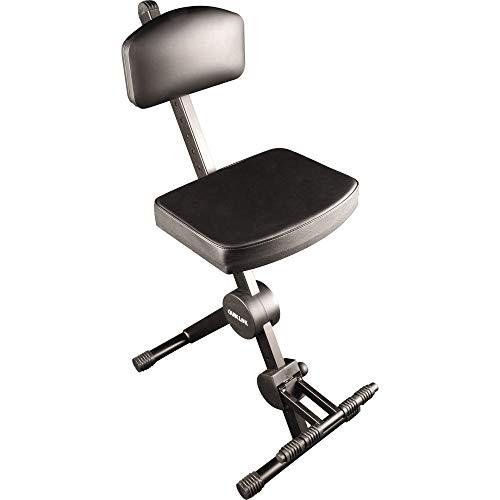 Quiklok DX749Tabouret pour musicien, avec assise, repose-pied et dossier réglables