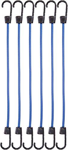 Amazon Basics - Cuerda elástica - Paquete de 6
