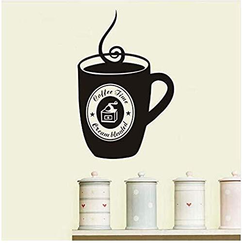 Muursticker DIY Vinyl Koffie Cup Aanbieding Restaurant Keuken Verwijderbare Home Decoratie Muurschildering Decoratie Drop Transport 43X66Cm