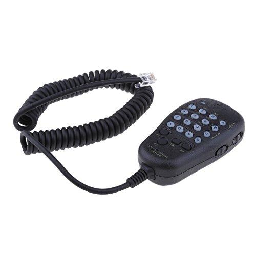 B Blesiya 6Pin Mh-48A6J DTMF Micrófono de Mano Altavoz con Botón para Radio de Coche Yaesu