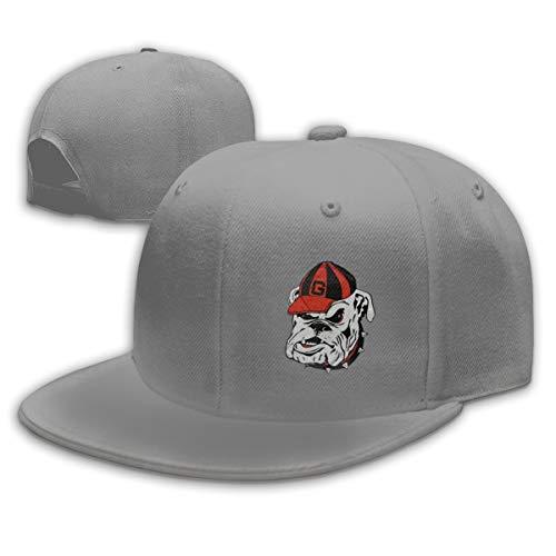georgia bulldog flat bill hat - 3