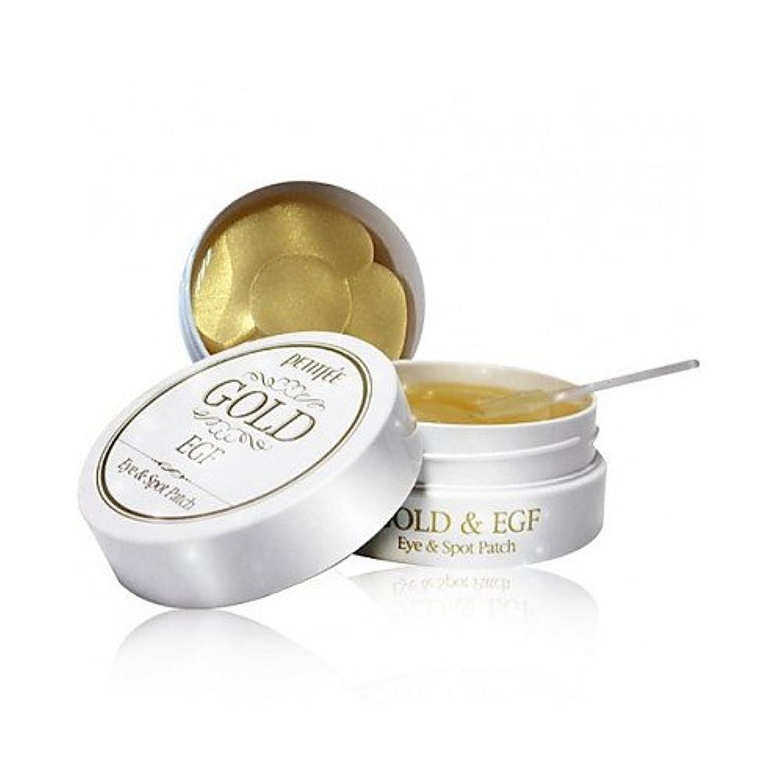 縮約同種の副(6 Pack) PETITFEE GOLD&EGF Eye& Spot Patch (並行輸入品)