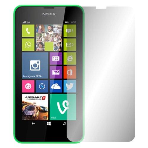 2 x Slabo pellicola protettiva per display Nokia Lumia 630 protezione display 'Crystal Clear' invisibile MADE IN GERMANY