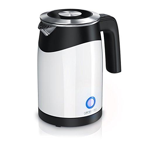 arendo - Hervidor de Agua Single - Hervidor de Agua para Viajes - Minihervidor de Agua - Capacidad para 0,5 l de Agua - 5 temperaturas - Pared Doble - Muy práctico y Compacto
