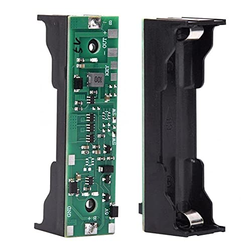 ZTSHBK DC 5V USB 18650 Cargador de batería de Litio UPS Convertidor de Voltaje Módulo de Carga Ascendente con protección Energía ininterrumpida