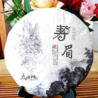 中国茶 (福建白茶 白茶 寿眉)1枚350g
