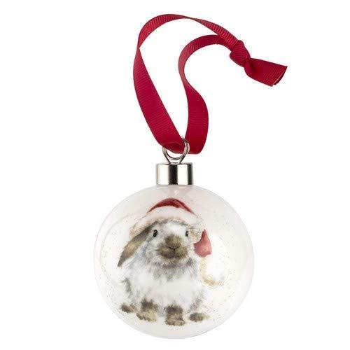 """Wrendale Designs Weihnachtskugel, Design: """"Gathered All Around"""", Mehrfarbig, 9"""