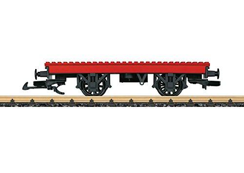 LGB – Gartenbahn Bausteinwagen – L94063, Waggon für Klemmbausteine, Zubehör, passend für alle LGB Züge, Spur G