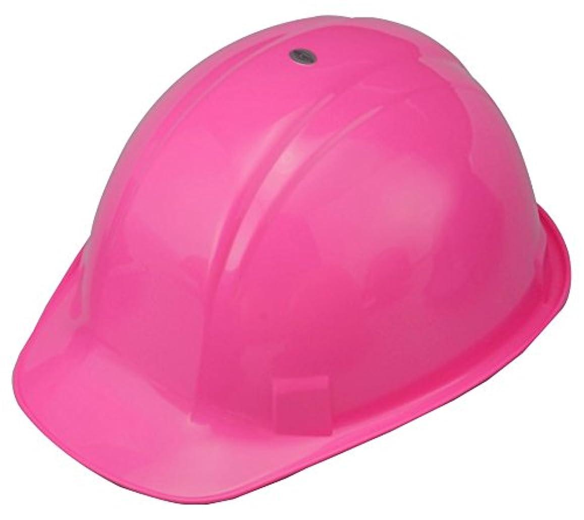 先祖庭園雲TOYO 作業用ヘルメット No.170F-OT ピンク 女性作業員に大