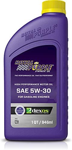 Royal Purple 01530 API-Licensed SAE 5W-30 High Performance Synthetic Motor Oil - 1 Qt