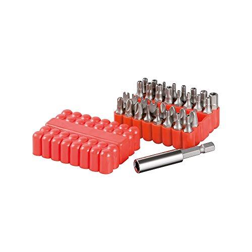 Fixpoint 77044 universeller Bit-Satz aus hochwertigem S2 Werkzeugstahl in Koffer