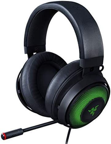 Razer Kraken Ultimate RGB USB Gaming Headset THX 7 1 Spatial Surround Sound Chroma RGB Lighting product image
