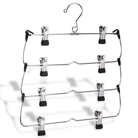 Organize It All Cintre Pliable à 4 Niveaux pour Jupe/Jupe
