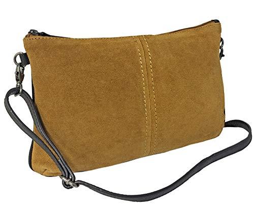 Rowallan Rowallan - Bolsa Hombro Bolso Mano Piel marrón