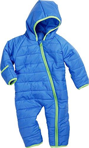 Schnizler Unisex Baby Stepp-Overall Schneeanzug, Blau (blau 7), 74