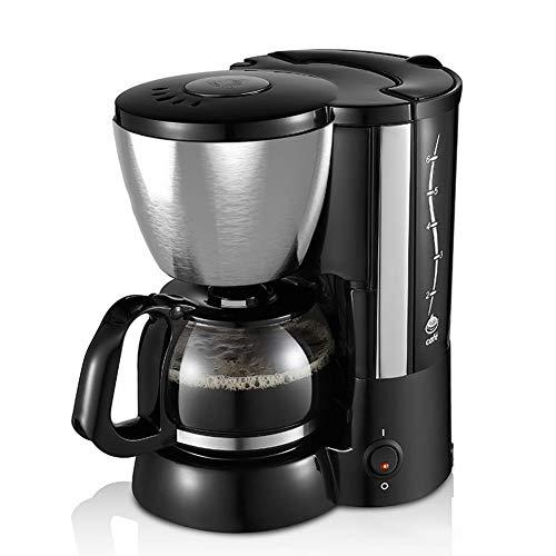 LSHUAIDJ Automatische Espresso Koffiemachine, kleine binnenlandse Amerikaanse koffiezetapparaat, afneembare watertank, roestvrij stalen behuizing, slimme isolatie, PP-materiaal