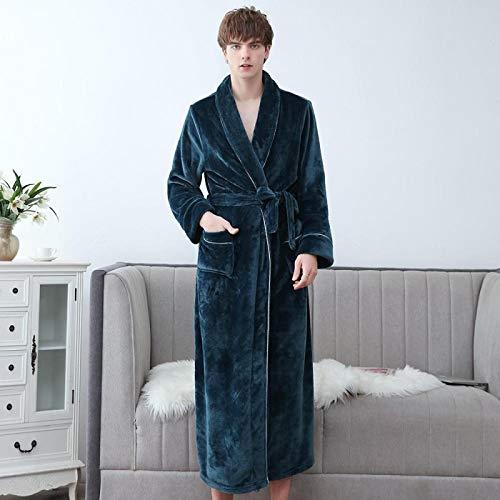 STJDM Pyjama,Lovers Robe Women Winter Flannel Bathrobe Thicken Warm Kimono Bath Gown...