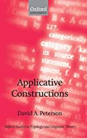 Applicative Constructions (Oxford Studies in Typology and Linguistic Theory)