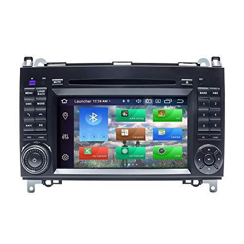 para Mercedes-Benz W169 W245 B160 B170 B180 B200 W639 Vito Viano W906 Sprinter VW Crafter Android 10 Octa Core 4GB RAM 128GB ROM 7'Radio de Coche Estéreo Navegador GPS Coche Auto Play OBD WiFi Dab
