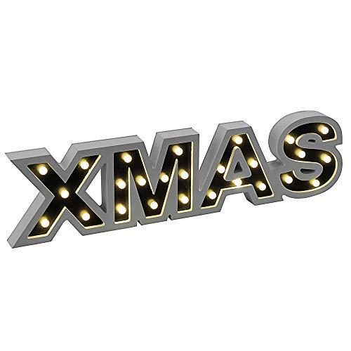 Xmas LED Steh Lampe Wohn Zimmer Weihnachts Winter Dekoration Fenster Bank LeuchtenDirekt 90106-16