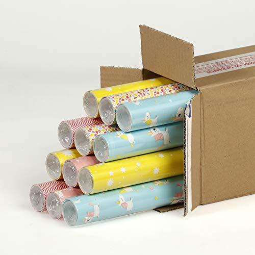 Clairefontaine inpakpapier, 2 x 0,70 m, eenhoorn, 12 stuks