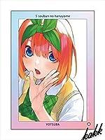 五等分の花嫁 ミニアクリルアート 中野四葉 制服ver 185mm×255mm グッズ