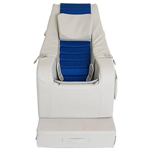 SEEDS クッションチェア 【 Lサイズ カバーシート エアータイプ 青 】 10〜13才用 室内用 座位保持装置